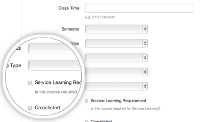 GivePulse - Ability to create and oversee service learning classes